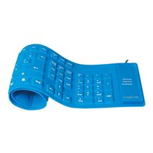 LogiLink Flexible Waterproof Tastatur PS/2 USB